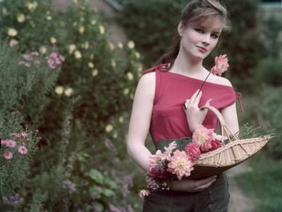 1950s Flower Picker by Charles Woof