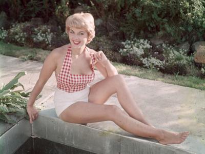 Blonde by Pond 1950s by Charles Woof