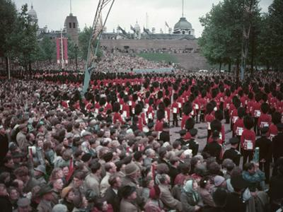 Coronation Day 1953 by Charles Woof