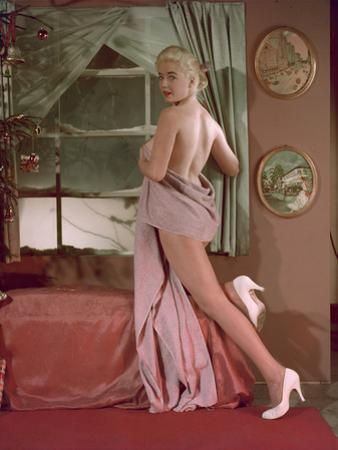 Girl Wears Towel, Colour by Charles Woof