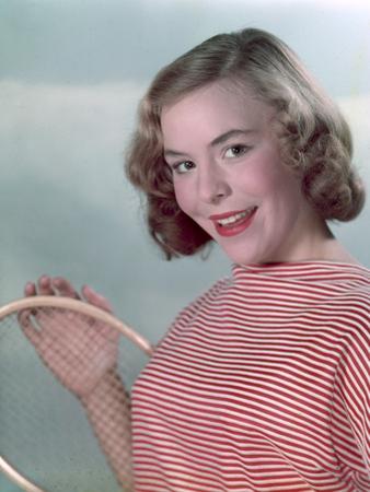 Tennis Girl, Woof 1950S by Charles Woof