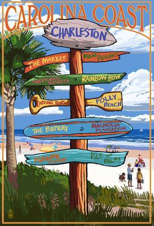 Charleston, South Carolina - Destination Signs