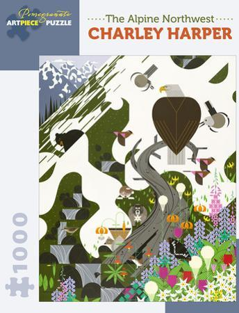 Charley Harper: The Alpine Northwest 1000 Piece Puzzle