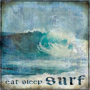 Eat Sleep Surf by Charlie Carter