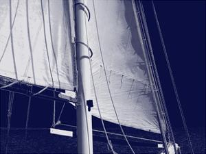 Schooner Sails I by Charlie Carter