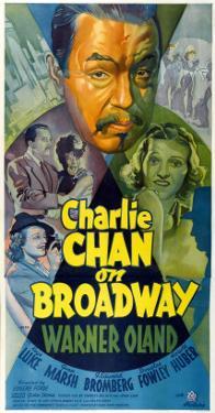 Charlie Chan on Broadway, Top Center: Warner Oland, 1937