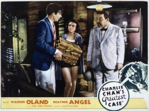 Charlie Chan's Greatest Case, Walter Byron, Heather Angel, Warner Oland, 1933