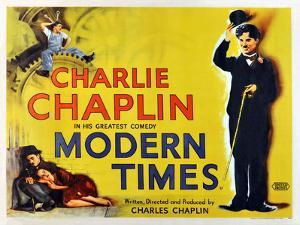 "CHARLIE CHAPLIN. ""MODERN TIMES"" [1936], directed by CHARLIE CHAPLIN."