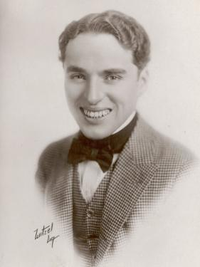 Charlie Chaplin (Sir Charles Spencer) English Comedian and Actor as Himself
