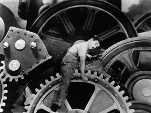 """Charlie Chaplin. """"The Masses"""" 1936, """"Modern Times"""" Directed by Charles Chaplin"""