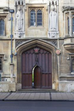 Entrance to All Souls College, Oxford, Oxfordshire, England, United Kingdom, Europe by Charlie Harding