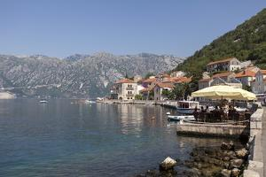 Perast Harbour and Promenade by Charlie Harding