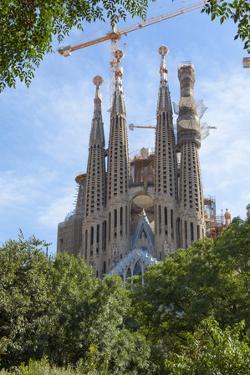 Sagrada Familia, UNESCO World Heritage Site, Barcelona, Catalonia, Spain, Europe by Charlie Harding