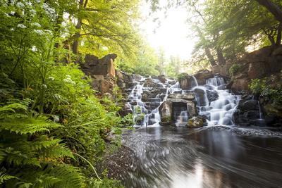 The Cascades, Virginia Water, Surrey, England, Uk, Europe