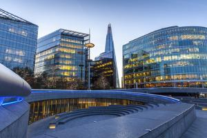 The Scoop, an Amphitheatre Next to the Glc Building, at More London by Charlie Harding