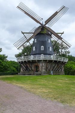 Traditional Swedish Windmill, Malmo, Sweden, Scandinavia, Europe by Charlie Harding