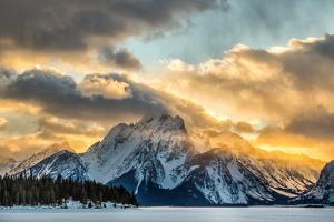 Mountains in Grand Teton National Park by Charlie James