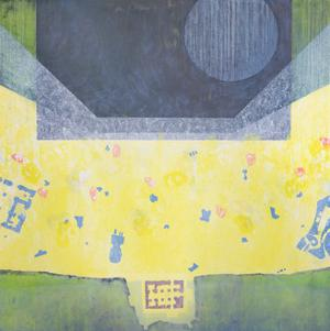 Between Emmanuel and Gabriel, 1998 by Charlie Millar