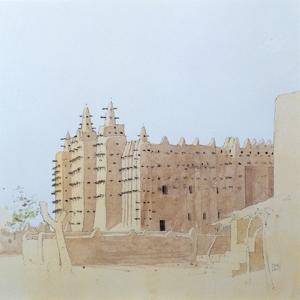 Djenne (Mali) Grande Mosquee, Tuesday, 2000 by Charlie Millar