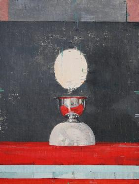 Egg over Red and Black by Charlie Millar