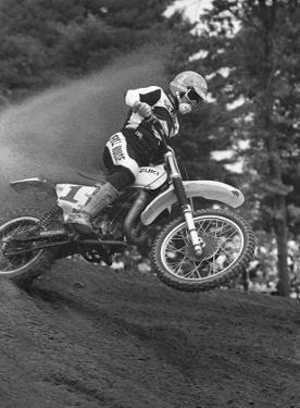 Berm Launch by Charlie Morey