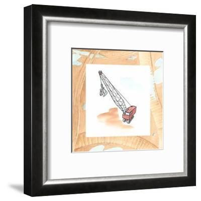 Charlie's Crane-Charles Swinford-Framed Art Print