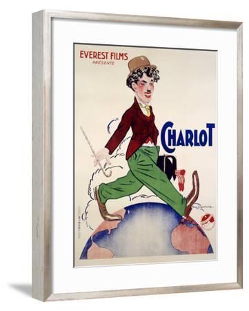 Charlot--Framed Giclee Print