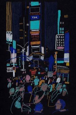 Times Square by Charlotte Ager