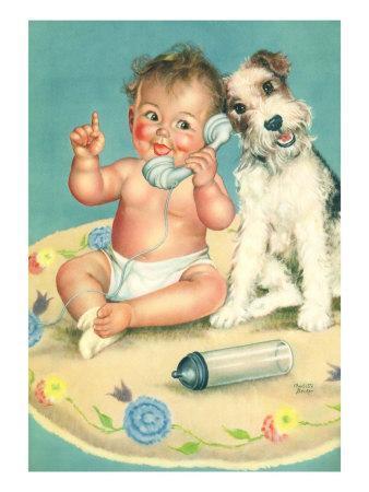Baby Talks, Dog Listens