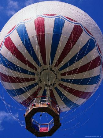 """Big Bob,"" the London Hot Air Balloon, London, United Kingdom"