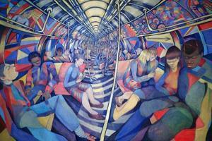 Subway NYC, 1994 by Charlotte Johnson Wahl