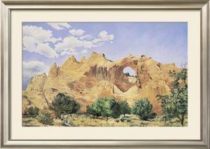 Window Rock by Charlotte Klingler
