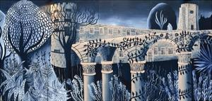 Oxford Castle and the Enchanted Forest, 2014 by Charlotte Orr