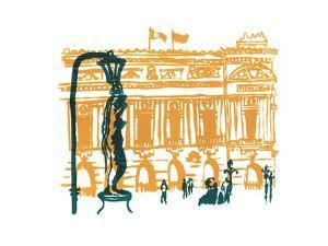 Paris Opera House, 2014 by Charlotte Orr