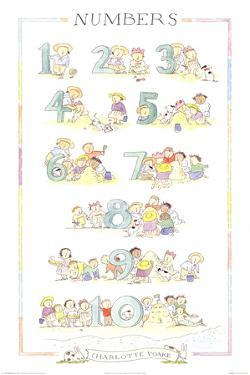 Numbers by Charlotte Voake