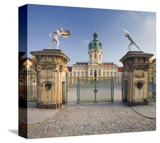 Charlottenburg Palace, Berlin, Germany--Stretched Canvas Print
