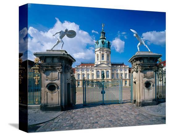 Charlottenburg Palace, Berlin--Stretched Canvas Print