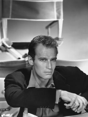 Charlton Heston, 1950