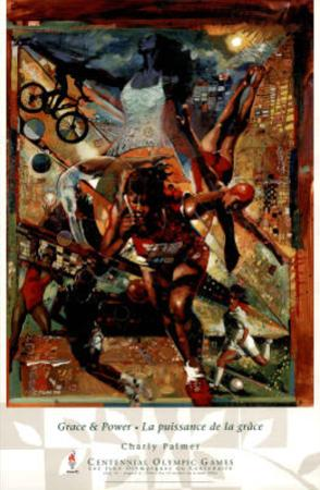 Grace & Power Atlanta, c.1996 Olympics by Charly Palmer