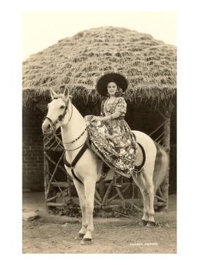 Charra on Horse, Mexico
