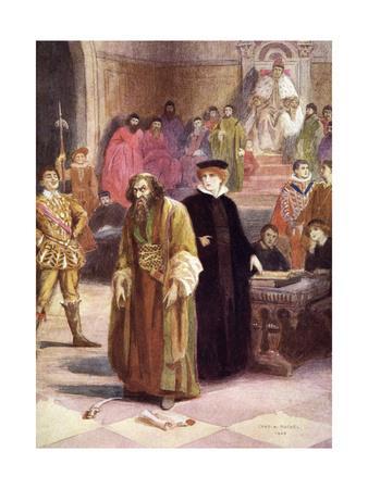 Merchant of V - Trial