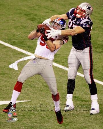 Chase Blackburn Interception Super Bowl XLVI