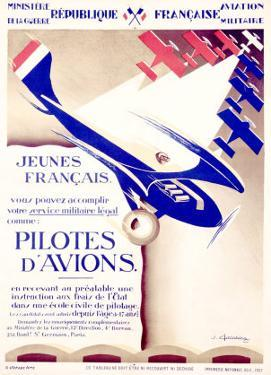 Pilotes d'Avions by Chassaing