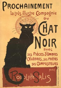 Chat Noir - Vintage Style Poster