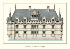 Chateau d'Azay-le-Rideau, Loire