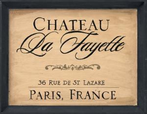 Chateau la Fayette