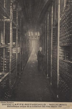 Chateau Lafite-Rothschild, Pauillac, Medoc, Library of Collection of Wines Since 1797