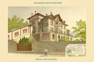 Villa - Neuchatel by Chatelain