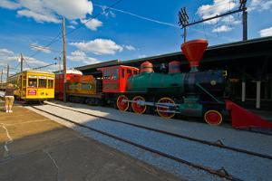 Chattanooga Choo Choo at the Creative Discovery Museum, Chattanooga, Tennessee, USA