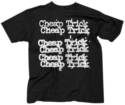 Cheap Trick- Stacked Logo